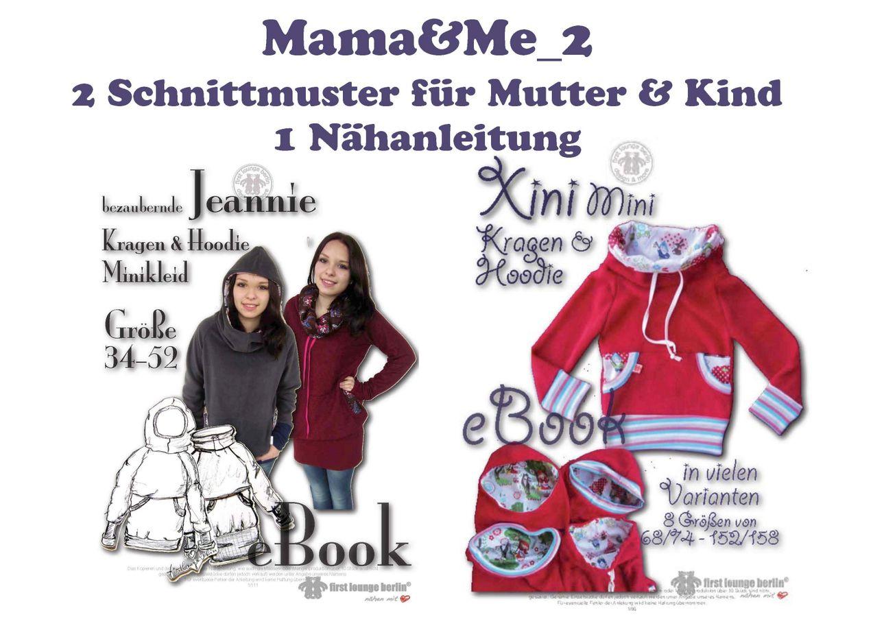 Produktfoto 1 von Firstlounge Berlin für Schnittmuster Mama & Me_2  Xini/Jeannie
