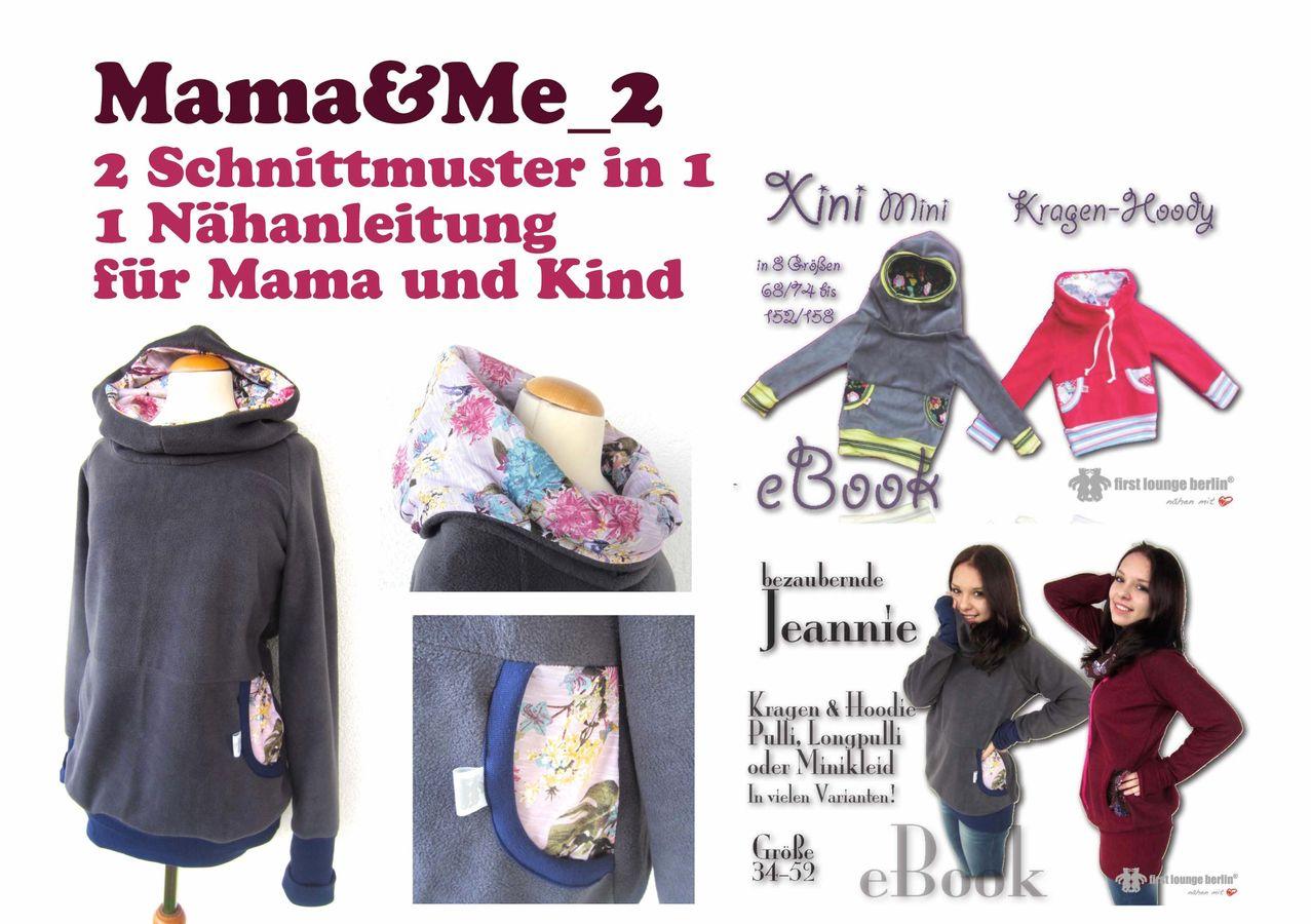 Produktfoto 5 von Firstlounge Berlin für Schnittmuster Mama & Me_2  Xini/Jeannie