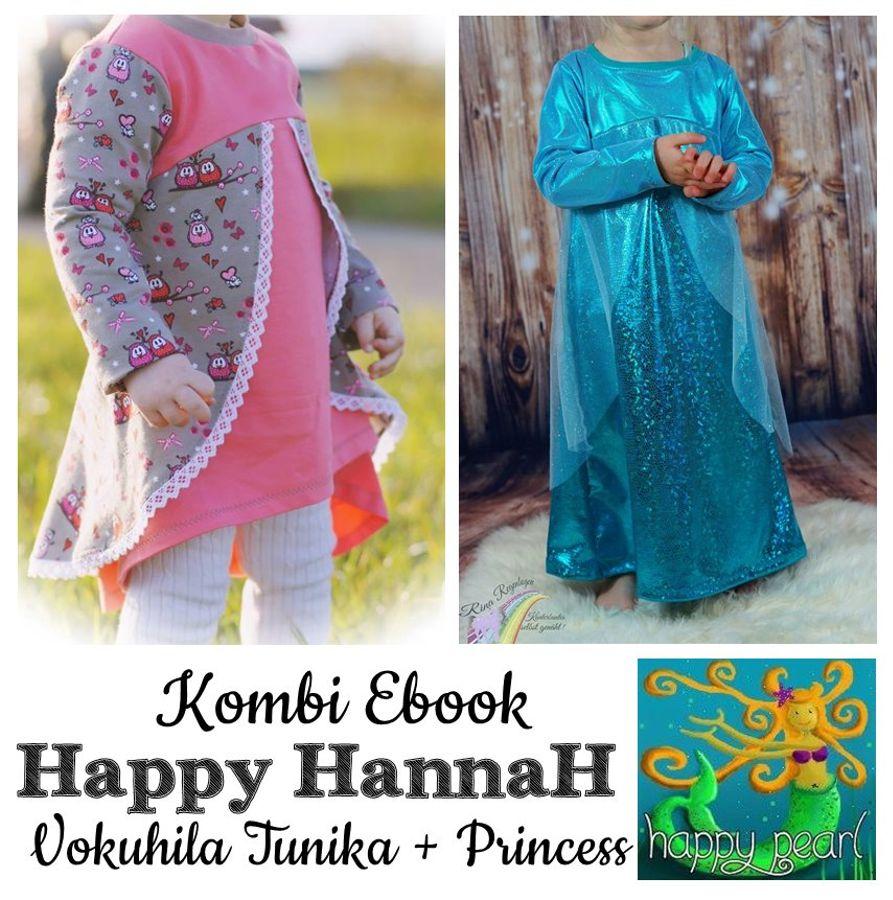 Produktfoto 1 von Happy Pearl für Schnittmuster Happy HannaH Tunika + Princess