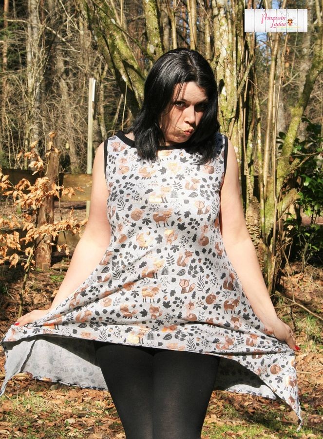 Produktfoto 19 von Mamili1910 für Schnittmuster Oversize Shirt Lennja Mama & Kind