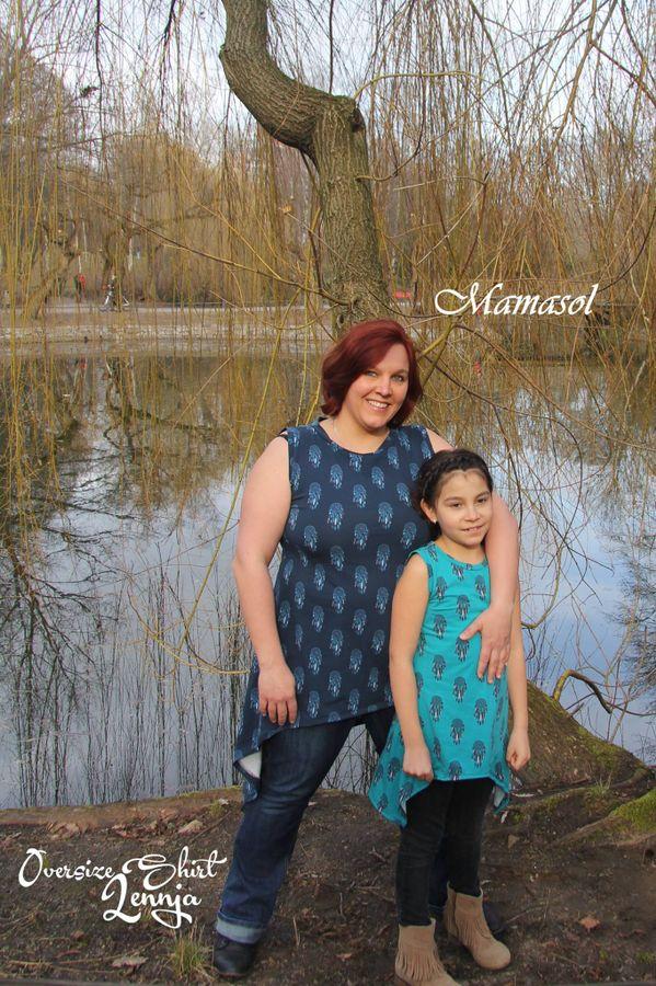Produktfoto 22 von Mamili1910 für Schnittmuster Oversize Shirt Lennja Mama & Kind