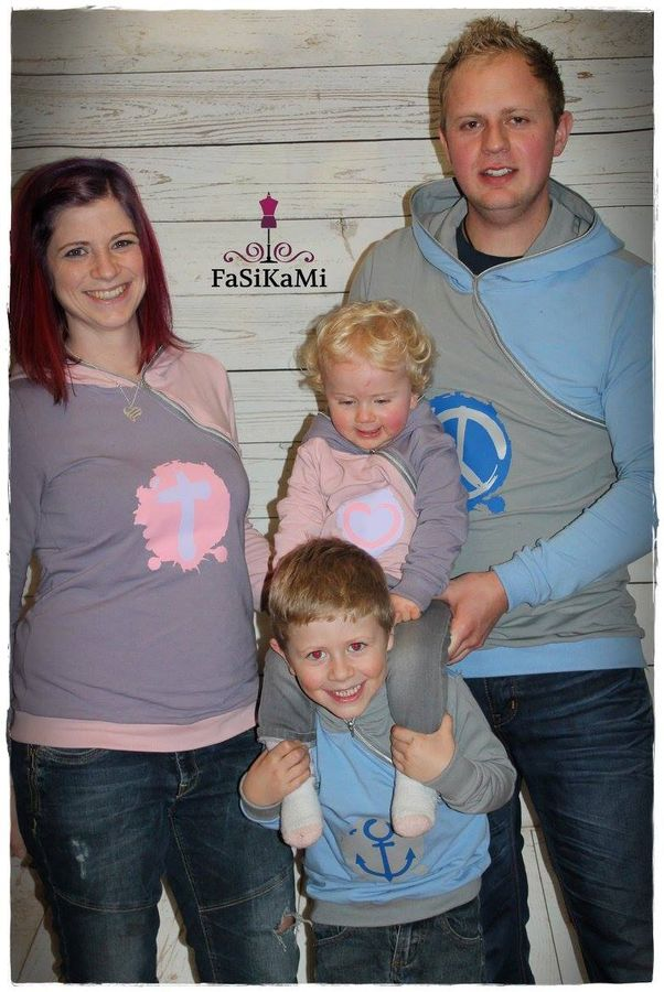Produktfoto 4 von Mamili1910 für Schnittmuster Familienpaket Lady Hennja  & Mister Henning & Little Hennja/Henning