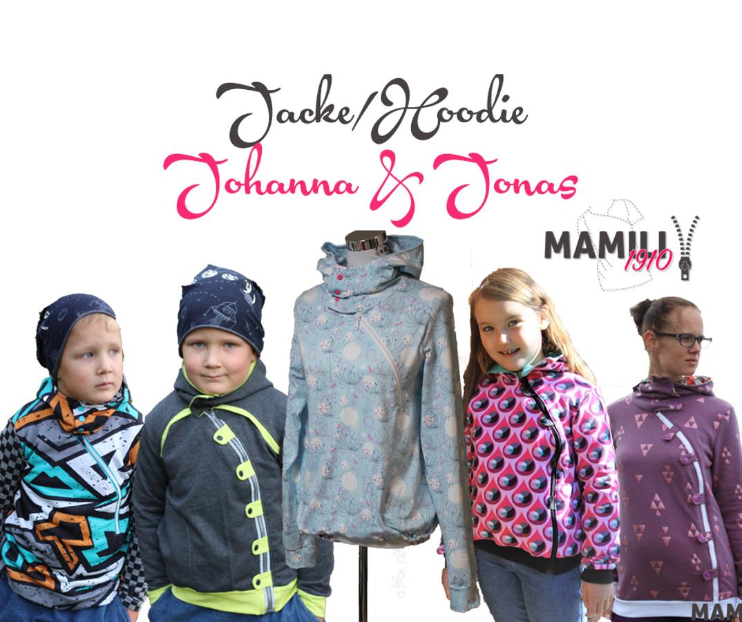 Produktfoto 1 von Mamili1910 für Schnittmuster Kombi-EBook Lady Johanna & Little Johanna/Jonas