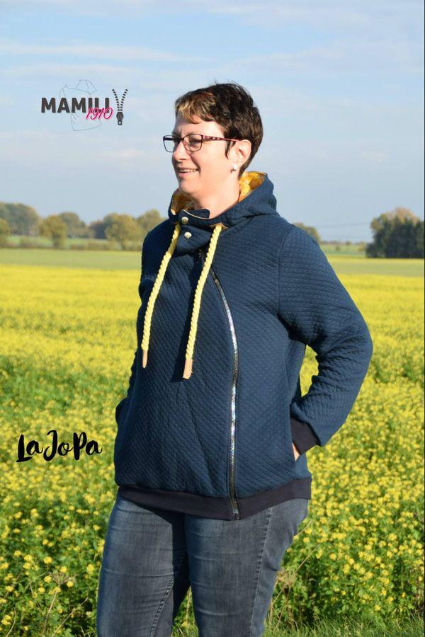 Produktfoto 8 von Mamili1910 für Schnittmuster Kombi-EBook Lady Johanna & Little Johanna/Jonas
