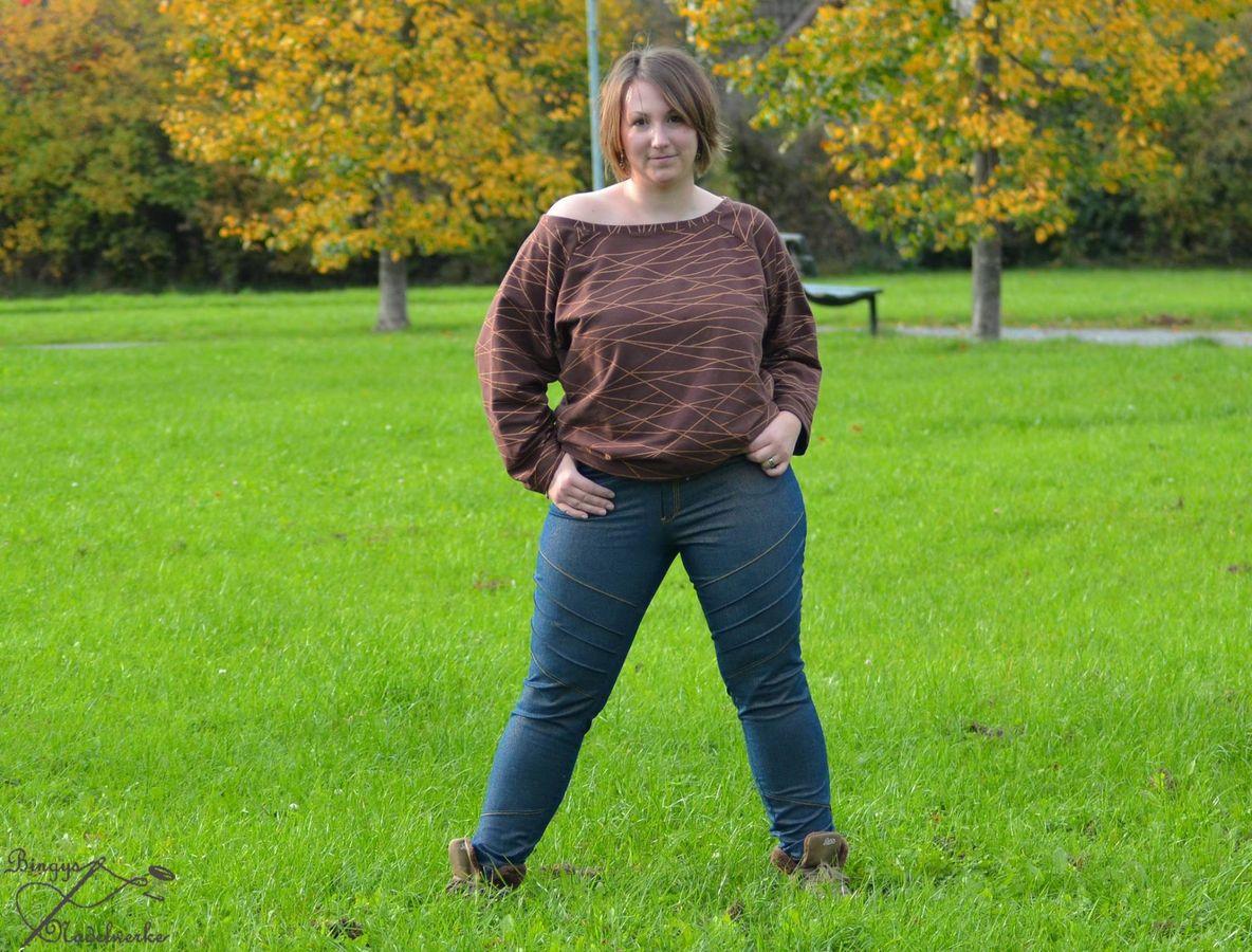 Produktfoto 6 von Mamili1910 für Schnittmuster E-Book Skinny&Bootcut Paket Jeans Merle Gr. 30-48