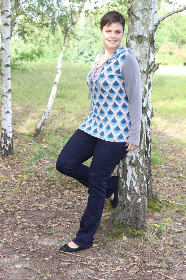 Produktfoto 7 von Mamili1910 für Schnittmuster E-Book Skinny&Bootcut Paket Jeans Merle Gr. 30-48