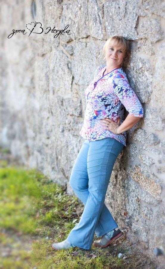 Produktfoto 8 von Mamili1910 für Schnittmuster E-Book Skinny&Bootcut Paket Jeans Merle Gr. 30-48