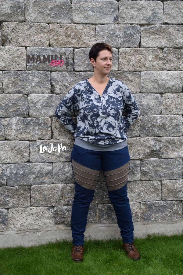 Produktfoto 9 von Mamili1910 für Schnittmuster E-Book Skinny&Bootcut Paket Jeans Merle Gr. 30-48