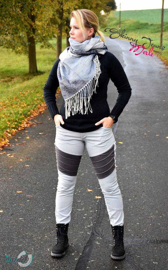 Produktfoto 10 von Mamili1910 für Schnittmuster E-Book Skinny&Bootcut Paket Jeans Merle Gr. 30-48