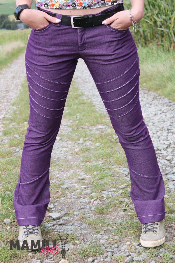 Produktfoto 12 von Mamili1910 für Schnittmuster E-Book Skinny&Bootcut Paket Jeans Merle Gr. 30-48