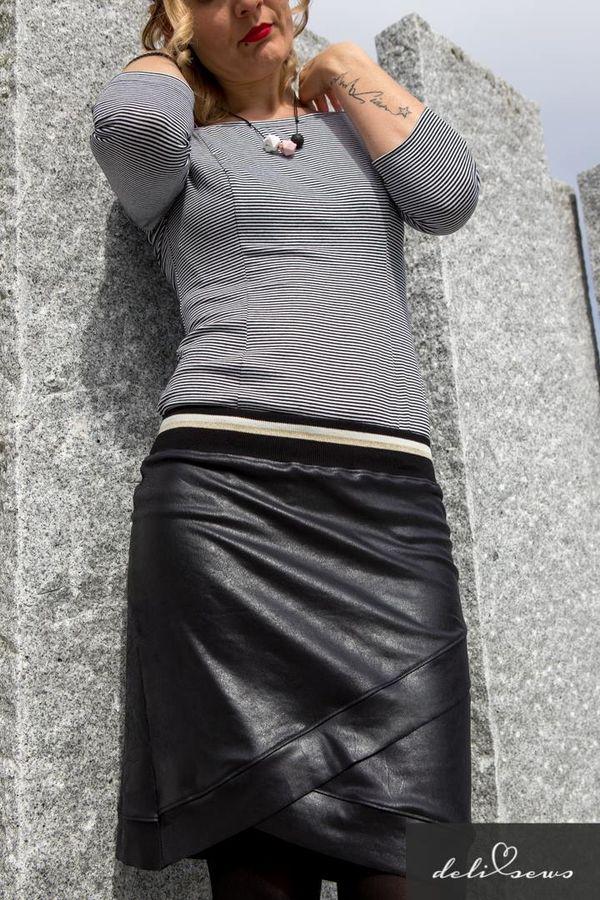 Produktfoto 8 von MiToSa-Kreativ für Schnittmuster Kombi E-Book Shabby Skirt Ladies und Kids Gr. 34-52 / Gr. 74 - 164