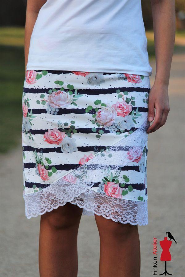 Produktfoto 9 von MiToSa-Kreativ für Schnittmuster Kombi E-Book Shabby Skirt Ladies und Kids Gr. 34-52 / Gr. 74 - 164
