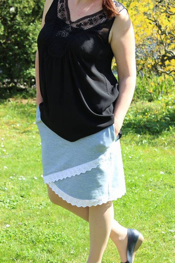 Produktfoto 15 von MiToSa-Kreativ für Schnittmuster Kombi E-Book Shabby Skirt Ladies und Kids Gr. 34-52 / Gr. 74 - 164