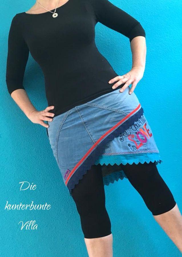 Produktfoto 18 von MiToSa-Kreativ für Schnittmuster Kombi E-Book Shabby Skirt Ladies und Kids Gr. 34-52 / Gr. 74 - 164