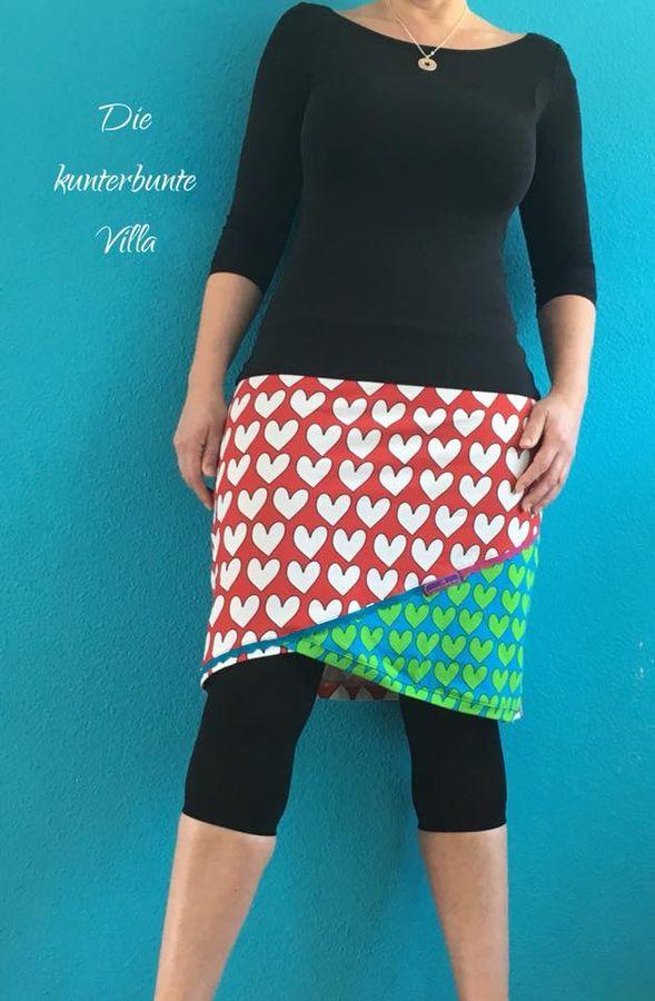 Produktfoto 20 von MiToSa-Kreativ für Schnittmuster Kombi E-Book Shabby Skirt Ladies und Kids Gr. 34-52 / Gr. 74 - 164