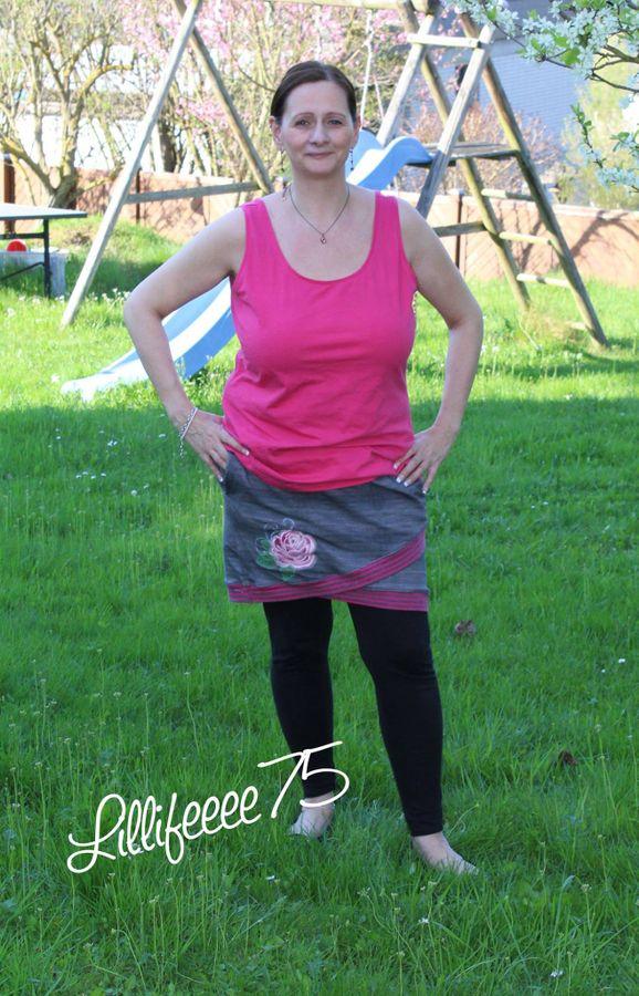 Produktfoto 25 von MiToSa-Kreativ für Schnittmuster Kombi E-Book Shabby Skirt Ladies und Kids Gr. 34-52 / Gr. 74 - 164