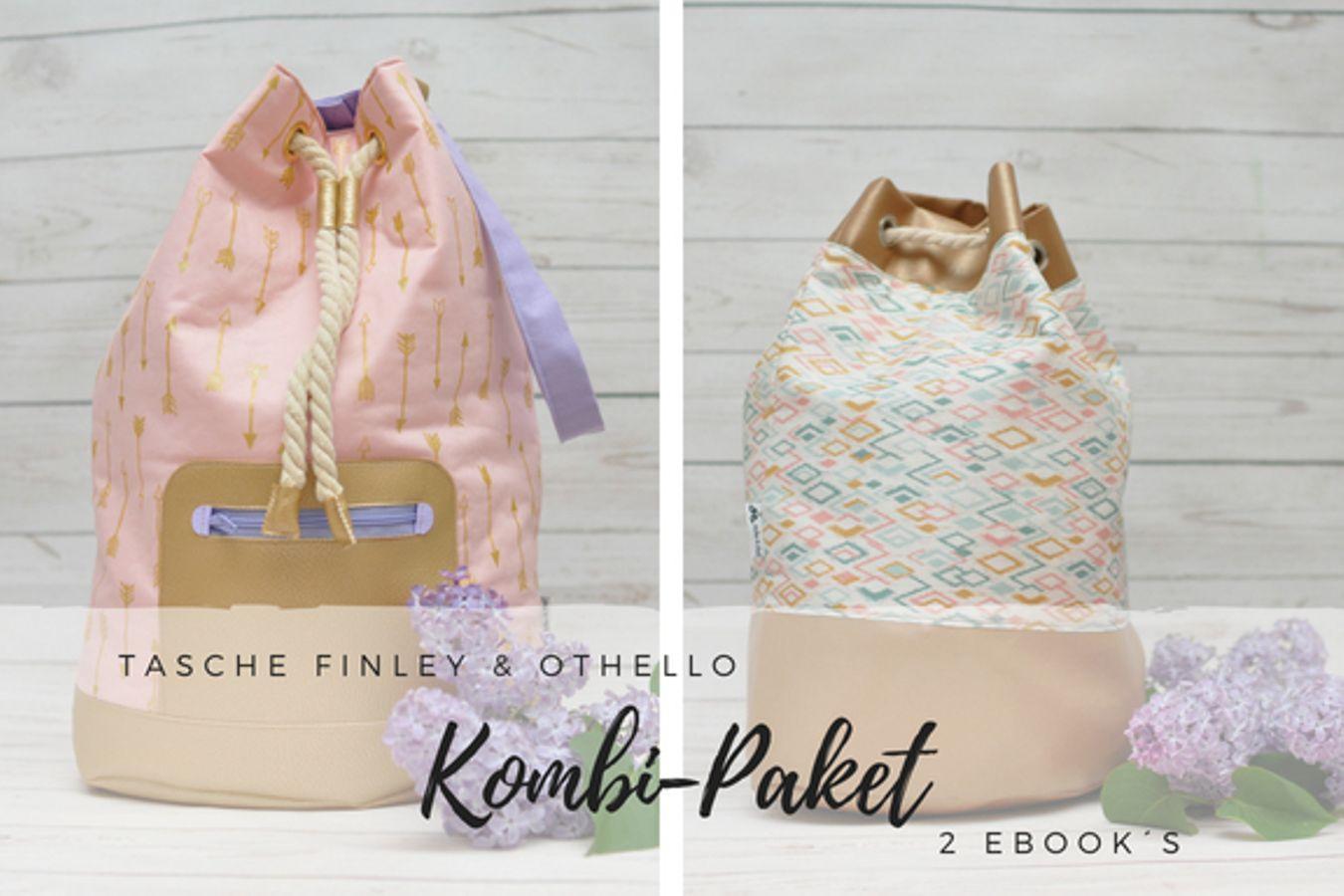 Produktfoto 1 von Zucker & Zimt Design für Schnittmuster Kombi-Paket Tasche Finley & Othello
