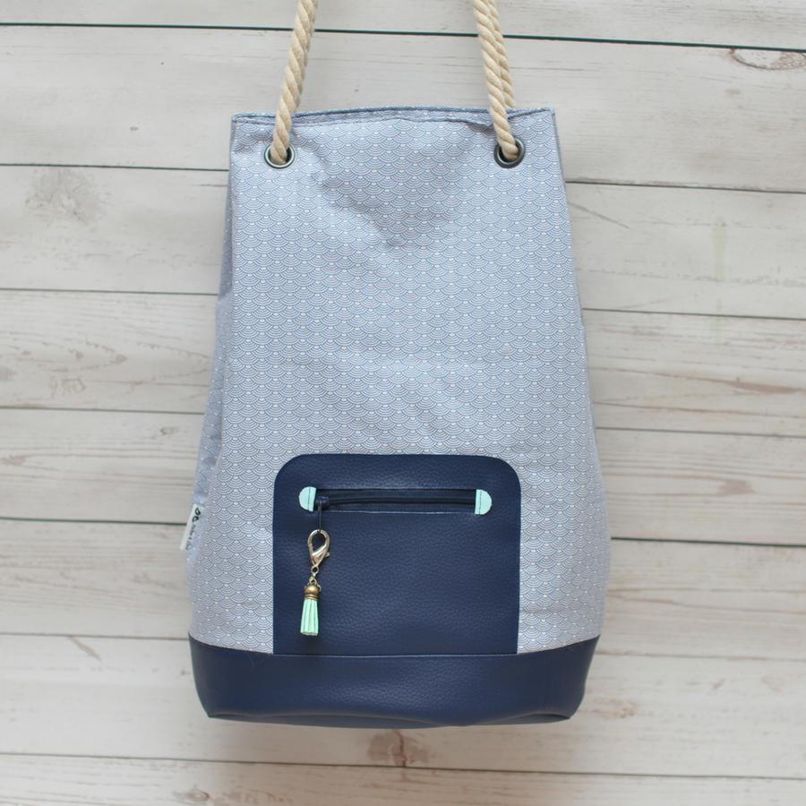 Produktfoto 6 von Zucker & Zimt Design für Schnittmuster Kombi-Paket Tasche Finley & Othello