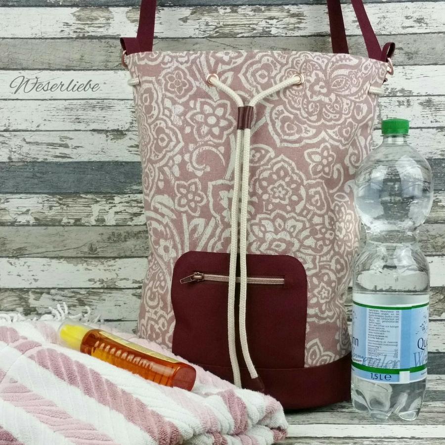 Produktfoto 8 von Zucker & Zimt Design für Schnittmuster Kombi-Paket Tasche Finley & Othello