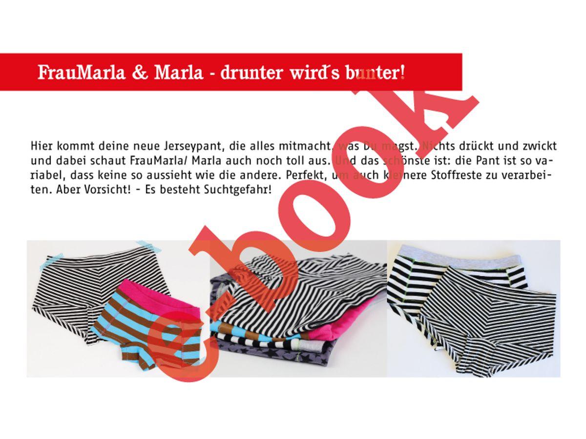 Produktfoto 3 von STUDIO SCHNITTREIF für Schnittmuster FRAU MARLA & MARLA Pants im Partnerlook