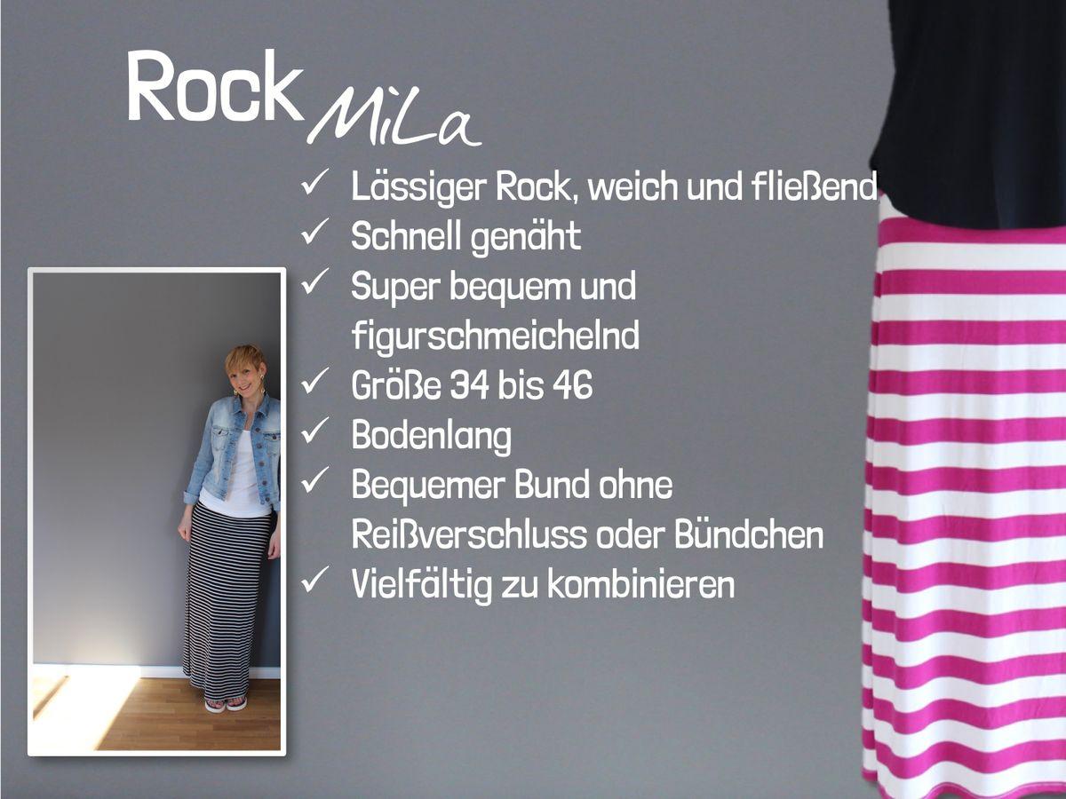 Produktfoto 2 von Windschnittich für Schnittmuster Rock Mila + Shirt Fina