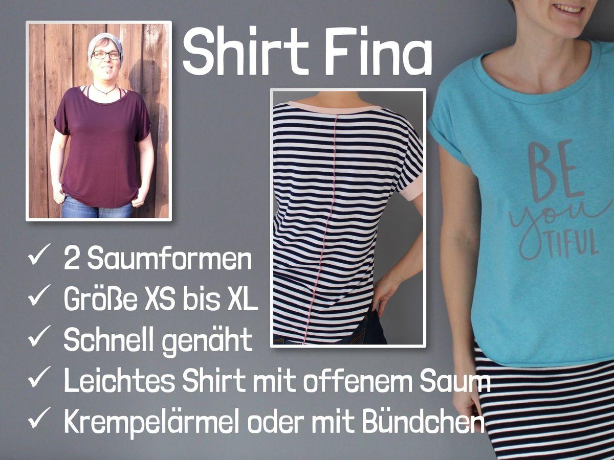 Produktfoto 4 von Windschnittich für Schnittmuster Rock Mila + Shirt Fina