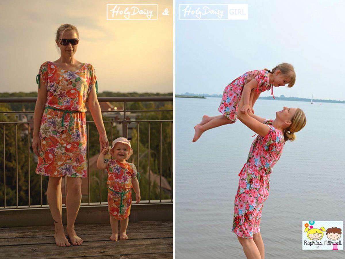Produktfoto 4 von Elsterglück für Schnittmuster HolyDaisy Mutter-Tochter-Kleid + Shirt