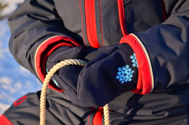 Kostenloses Schnittmuster Fausthandschuhe von textilsucht