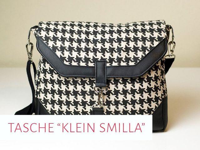 Produktfoto von kreativlabor Berlin zum Nähen für Schnittmuster Kameratasche & Handtasche Klein Smilla