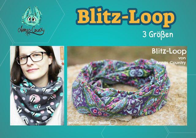 Produktfoto von Annas-Country zum Nähen für Schnittmuster Blitz-Loop