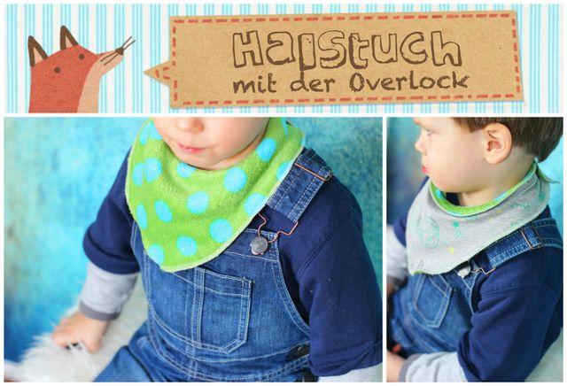 Produktfoto von Annas Country zum Nähen für Schnittmuster Halstuch mit der Overlock