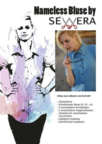 Produktfoto von sewera zum Nähen für Schnittmuster Nameless Bluse