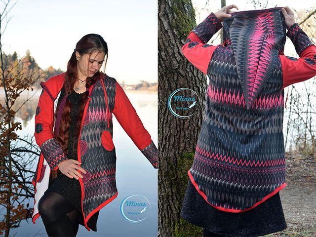 Produktfoto von Minas Design zum Nähen für Schnittmuster Keep Cool Jacket