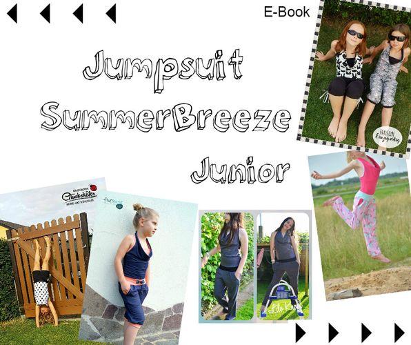 Produktfoto von Mamili1910 zum Nähen für Schnittmuster Jumpsuit SummerBreeze Junior