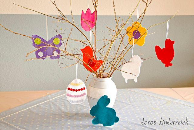Produktfoto von COSY_things zum Nähen für Schnittmuster Frühlings-Girlande