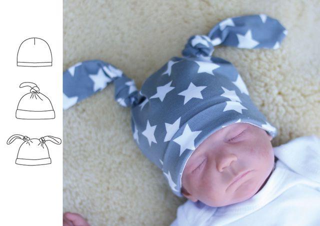 Produktfoto von Kid5 zum Nähen für Schnittmuster #37 Baby Hat