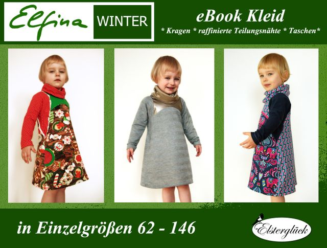 Produktfoto von Elsterglück zum Nähen für Schnittmuster Elfina Winter