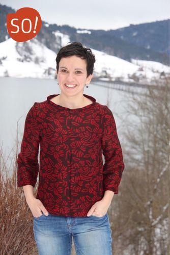 Produktfoto von SO Pattern zum Nähen für Schnittmuster Bluse Ella