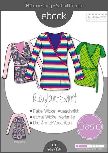Produktfoto von ki-ba-doo zum Nähen für Schnittmuster Basic Raglan-Shirt