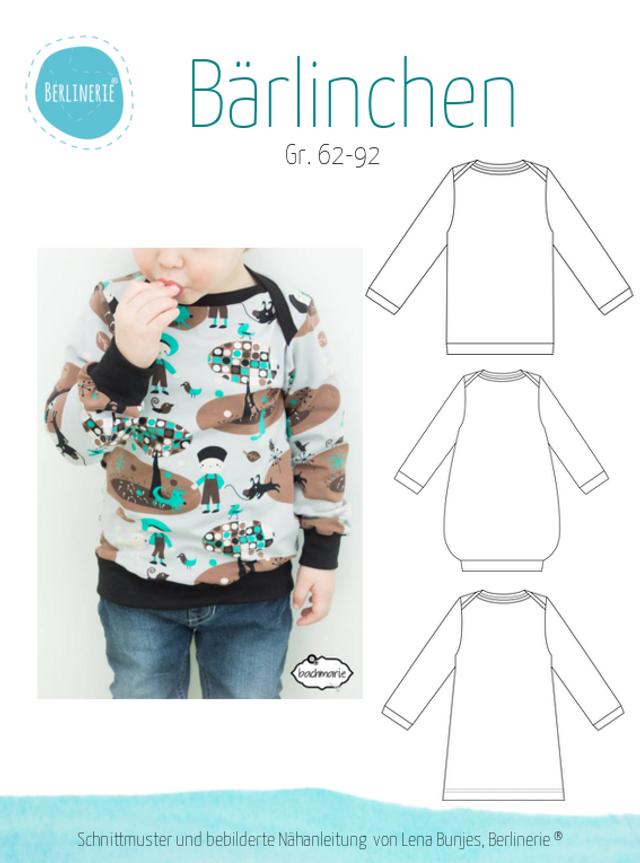 Produktfoto von Berlinerie zum Nähen für Schnittmuster Bärlinchen
