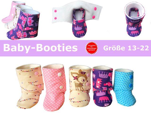 Produktfoto von Trash Monstarz zum Nähen für Schnittmuster Baby-Booties