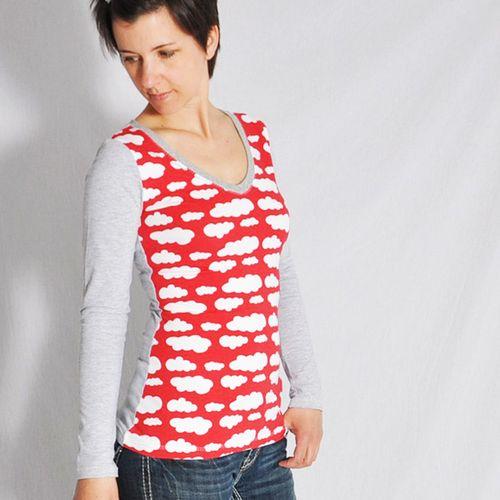 Produktfoto von Leni Pepunkt zum Nähen für Schnittmuster Shirt Nr. 1