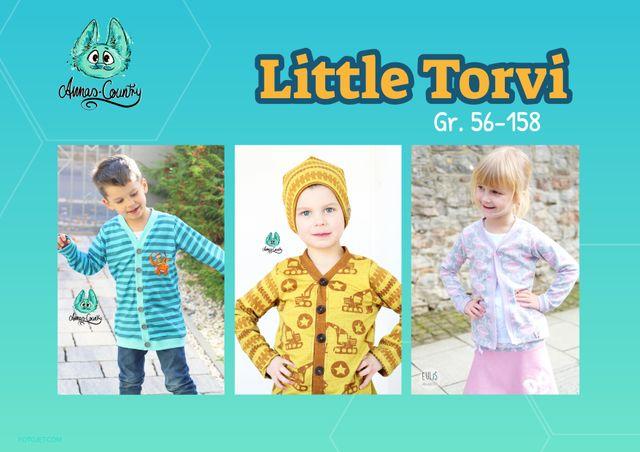 Produktfoto von Annas Country zum Nähen für Schnittmuster Little Torvi