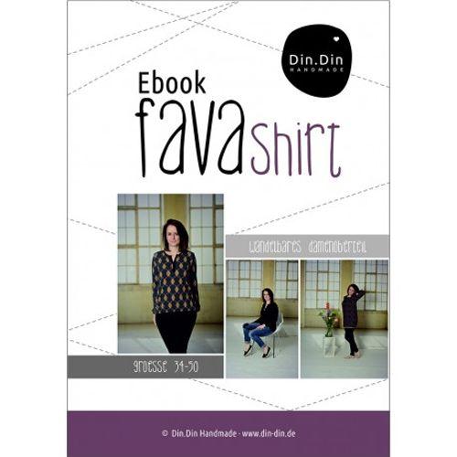 Produktfoto von Din.Din für Schnittmuster Fava Shirt