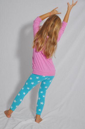 Produktfoto von Leni Pepunkt zum Nähen für Schnittmuster KinderLeggings BEIN.pünktchen
