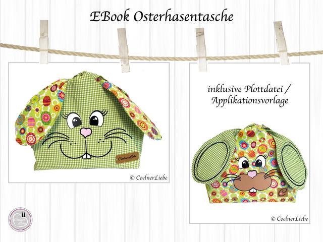 Produktfoto von CoelnerLiebe zum Nähen für Schnittmuster Der Osterhase