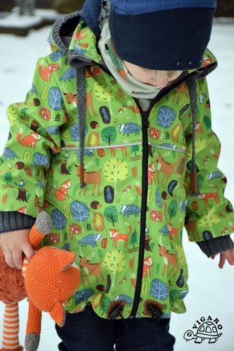 Produktfoto von Abenteuermädchen zum Nähen für Schnittmuster Abenteuerstreich Tommy