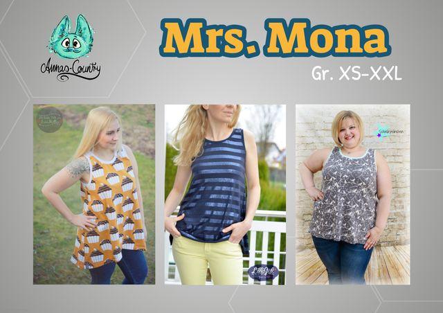 Produktfoto von Annas-Country zum Nähen für Schnittmuster Mrs. Mona
