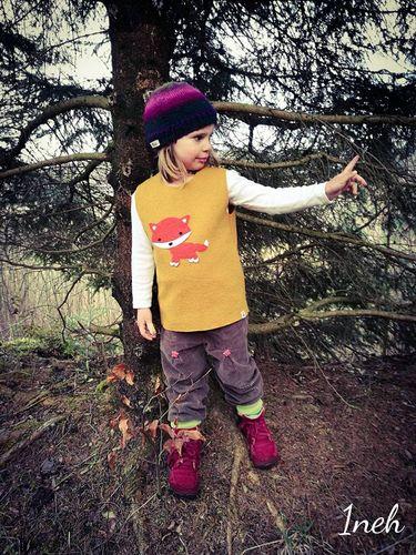 Produktfoto von textilsucht für Schnittmuster Waldkind Weste
