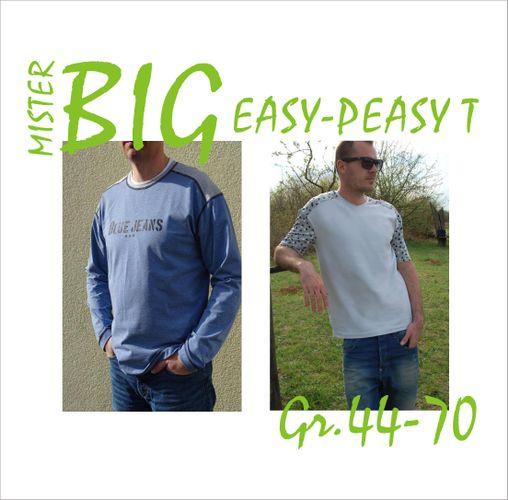 Produktfoto von STOFFwechsel für Schnittmuster MisterBIG Easy-Peasy T